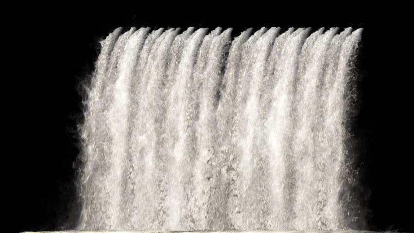 Waterfall Texture Seamless Loop 4k Stock Footage Video (100% Royalty free) 1017666133