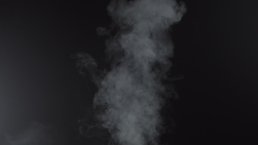 White smoky cloud of cigarette, 4k #1018160113