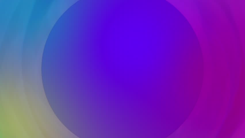 Multi colored circle shape abstract background | Shutterstock HD Video #1018328263