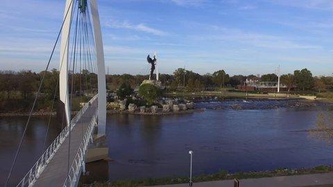 Keeper of the Plains - Wichita Kansas - Drone Video by Wichita Tech Services