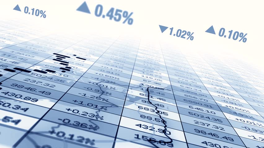 Stock Market Exchange Trading Investment Trend Lines Chart | Shutterstock HD Video #1018809073
