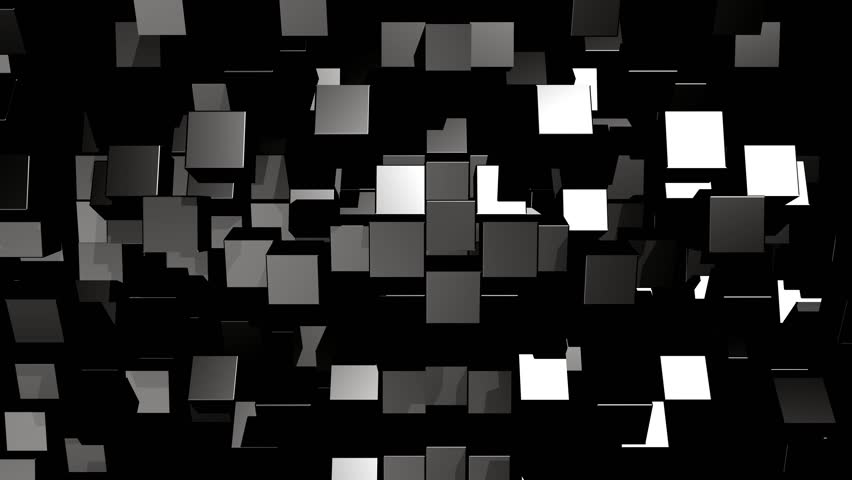 Abstract 3d rendering of cub  | Shutterstock HD Video #1018910923