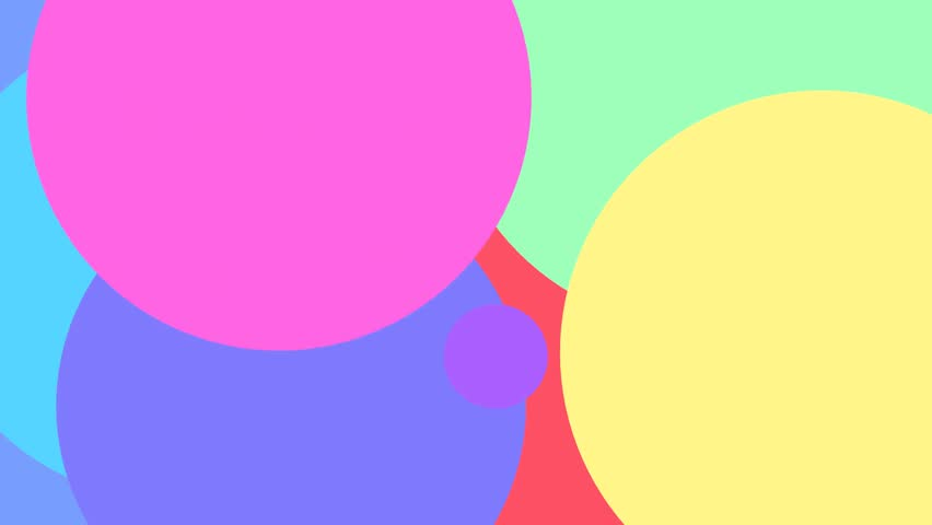 Opening or Ending motion graphic animation with color explosion effect make it like fun video