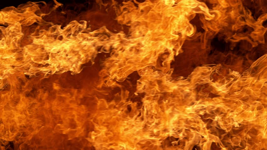 Fire flames shooting with high speed camera at 1000fps, #1019225023