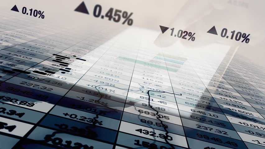 Finance Business Corporate Data Numbers Sales Profits Background | Shutterstock HD Video #1019935213