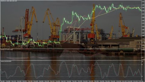 container ship diagram royalty-free stock footage