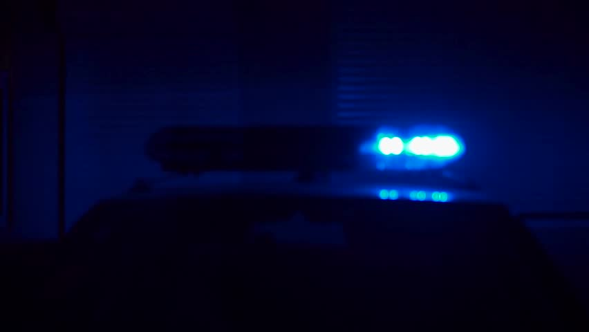 Flashing Lights On Top Of A Police Car | Shutterstock HD Video #1020218233