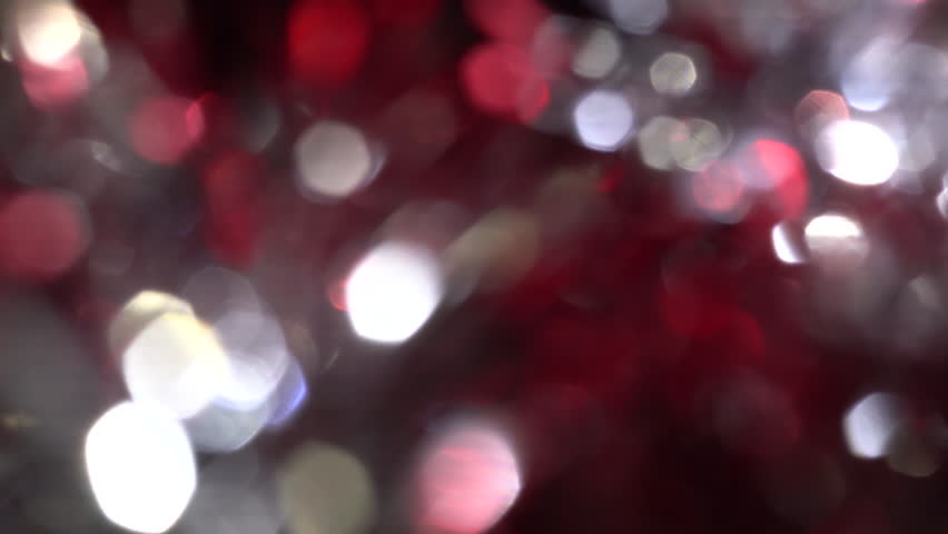 Abstract Blurred Christmas Lights. Background.  Slow Traveling, Blinking Twinkling Lights .  Party and celebration blue and white defocused background. Winter Holidays, Christmas Concept. | Shutterstock HD Video #1020259873