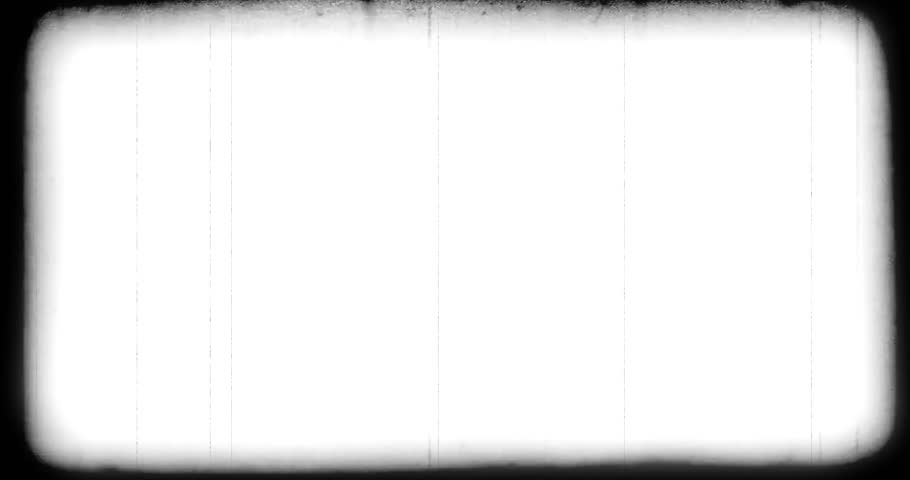 vintage old grunge film strip frame background, old movie damage effect, retro movie glitch effect with spot and