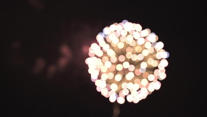 Firework display background p1 4k | Shutterstock HD Video #1020584713