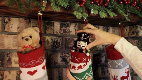 Filling Christmas Stockings