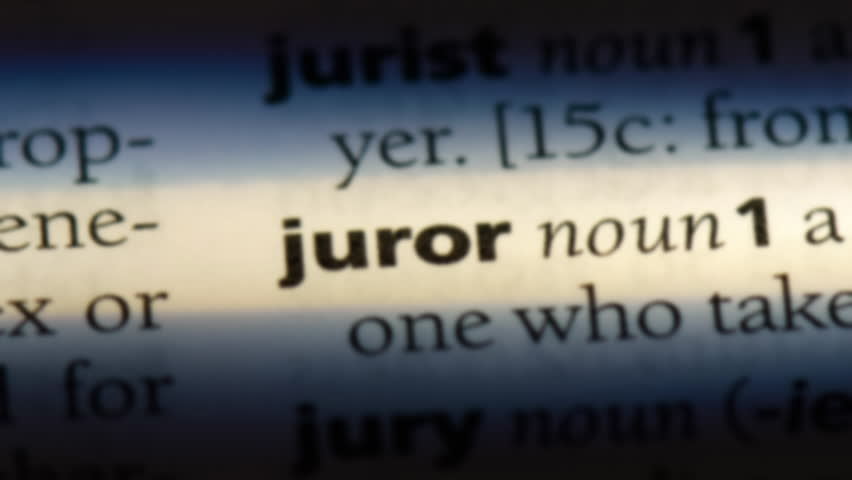 Jury Word Dictionary
