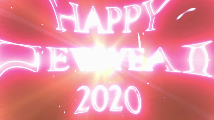 2019 Happy New Year Greetings Stock Footage Video 100 Royalty