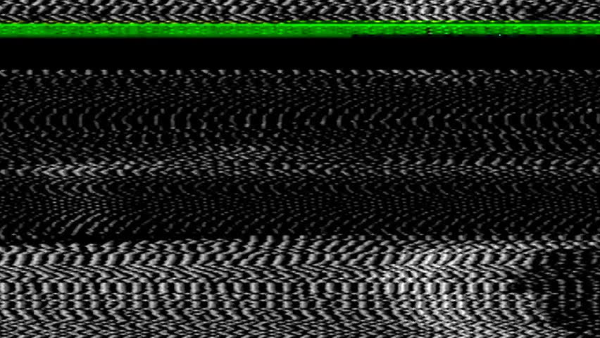 Analog tv signal, bad interference, pixel noise error video damage, old VHS vintage signal, overlay ready, just blend in your content, retro cinema style | Shutterstock HD Video #1021161523