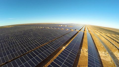 Solar panel farms in the Northern Cape