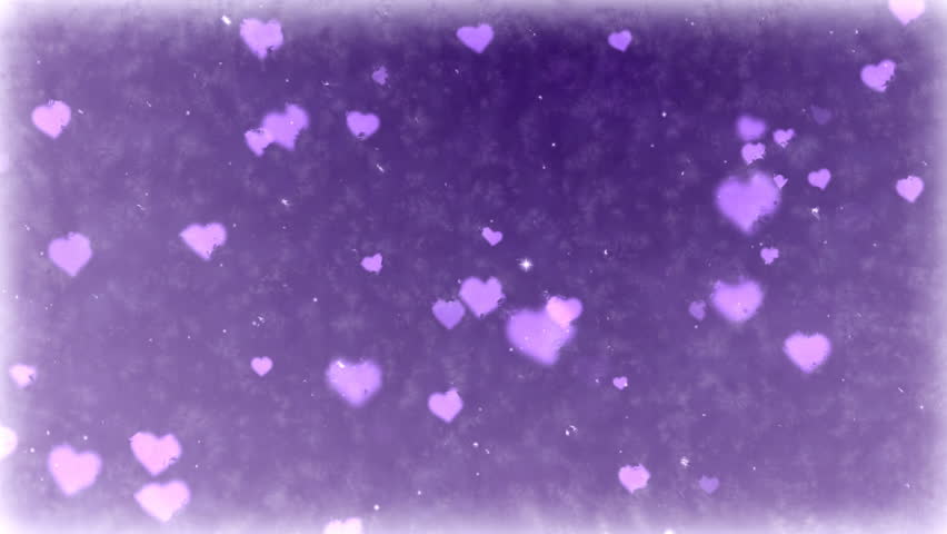 Falling hearts on frozen background. Seamless loop animation of Valentine's Day holiday. | Shutterstock HD Video #1021535113