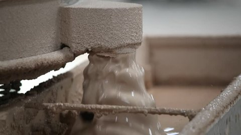 The basic ingredients that go into a finished tile are clay, sands and feldspar.