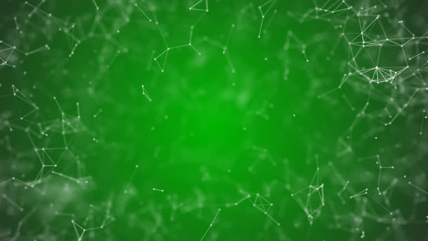 big data visualization, abstract nanotechnology Lime color plexus background,mesh nanotechnology global network with copy space animated in perfect loop uhd 4k 3840 2160