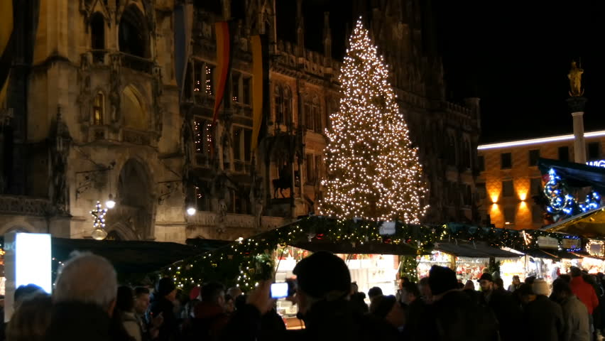 Christmas In Munich Germany.Munich Germany December 2 Stock Footage Video 100 Royalty Free 1022405173 Shutterstock