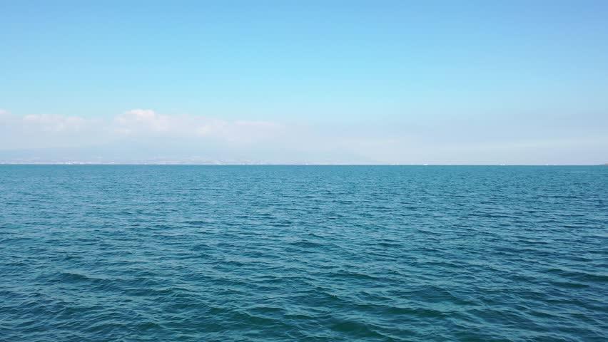 Beautiful sea of ??emerald green #1022586553