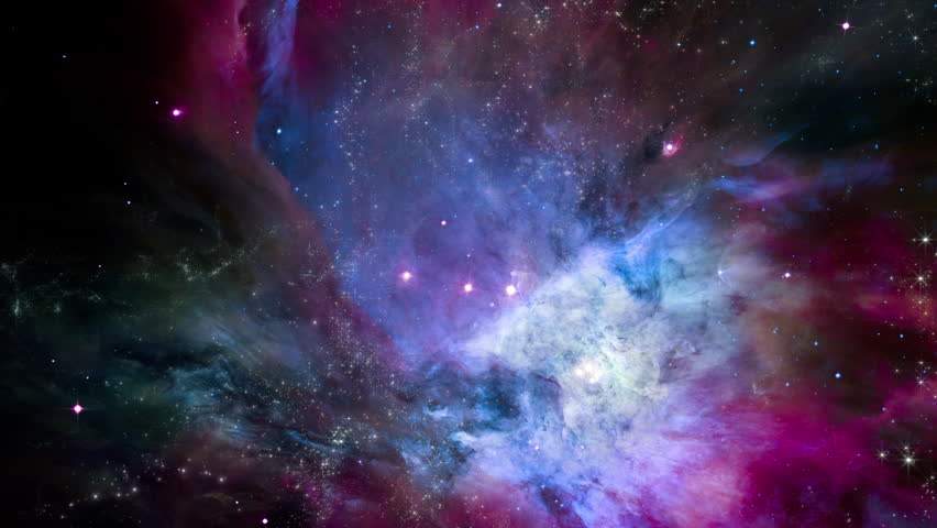 Traveling through star fields in space to a distant galaxy (Loop). | Shutterstock HD Video #1022655673