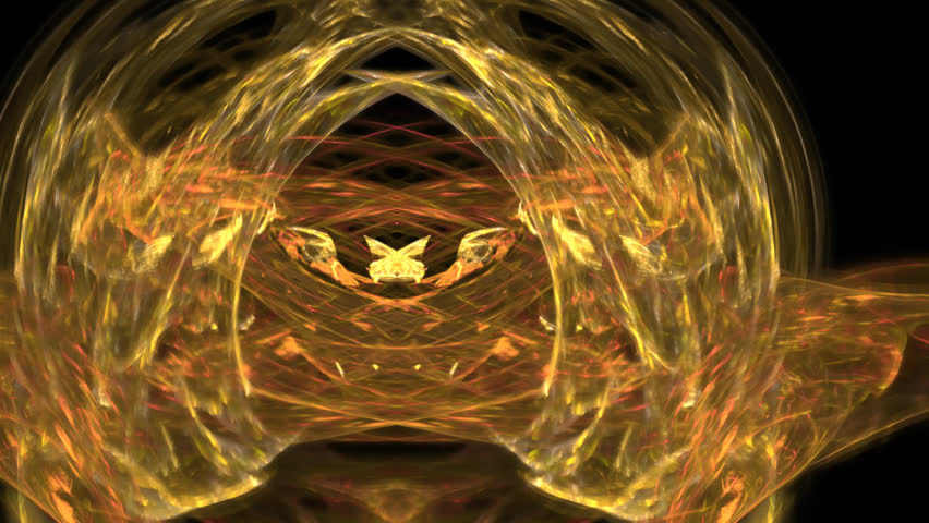 Abstract fractal forms morph and oscillate (Loop) | Shutterstock HD Video #1022739493