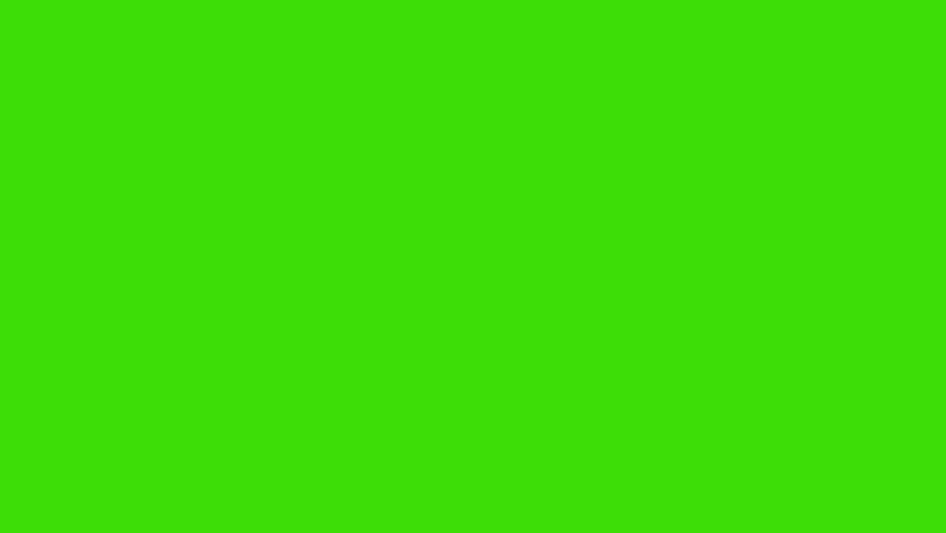 Animated heavy rainfall on green screen. 4K | Shutterstock HD Video #1023180583