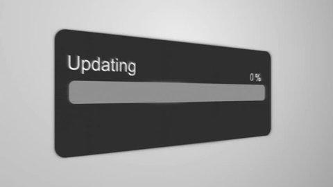 Updating Process Animation