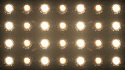 Floodlight Lights Flashing Wall Jarag VJ Stage 4K Blinder Blinking Lights Flash Club Flashlights Disco Lights Matrix Beam Lights Bulb Halogen Headlamp Lamp Nightclub Turn Off On Loop