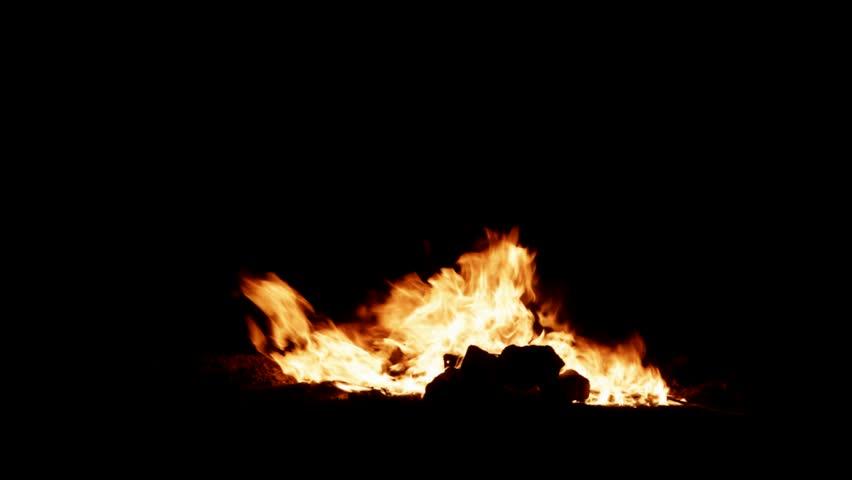 Big Bonfire, realistic bonfire | Shutterstock HD Video #1023893293
