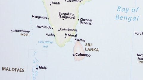 Sri Lanka and Southern India Stock Footage Video (100 ... on map of nhava sheva india, map of ahmedabad india, map of budapest india, map of jaffna india, map of bangalore india, map of kabul india, map of delhi india, map of chennai india, map of bay of bengal india, map of cochin india, map of gujarat state india, map of dhaka india, map of kathmandu india, map of qatar india, map of thimphu india, map of asia india, map of kolkata india, map of hyderabad india, map of dubai india, map of bombay india,