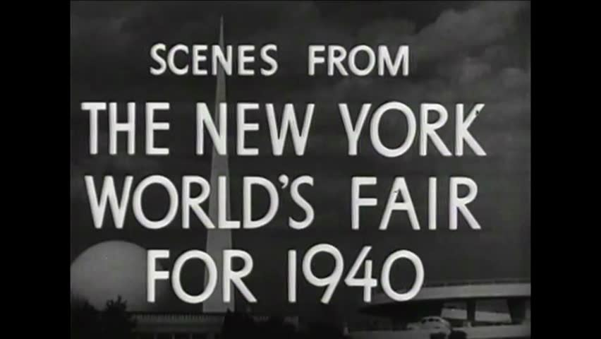 CIRCA 1940s - Scenes from the World?s Fair in New York in 1940.