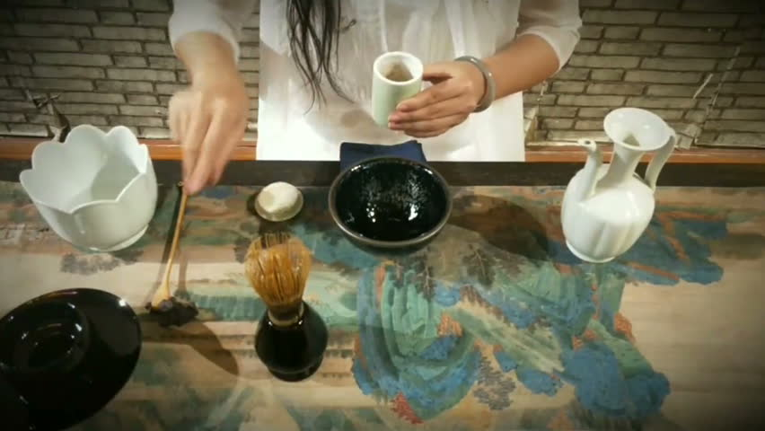 Chinese tea ceremony performance   Shutterstock HD Video #1025652053