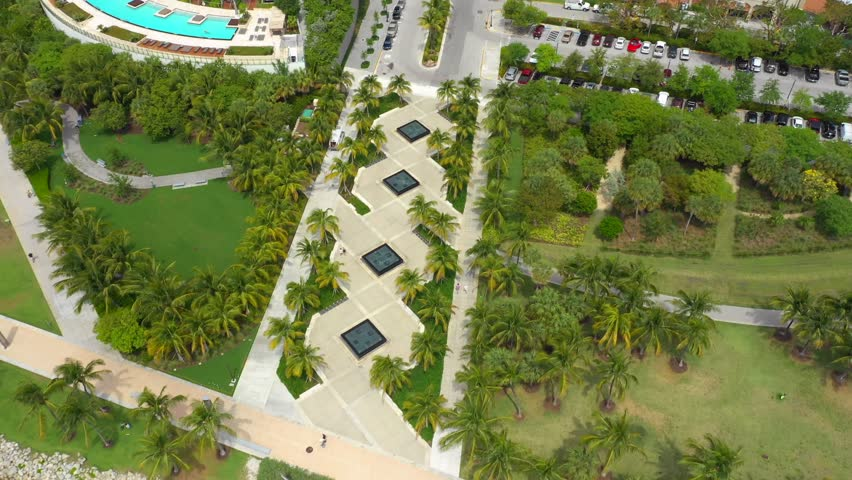 Miami scene aerial vlog footage | Shutterstock HD Video #1025934413