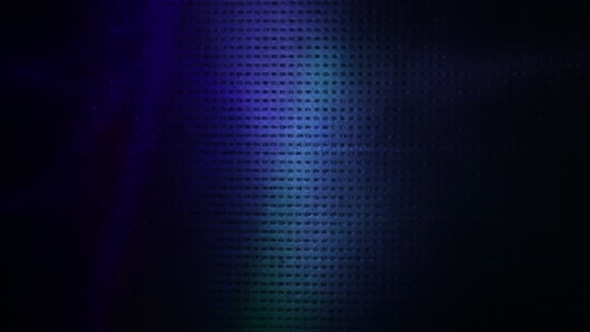 Flying spots of light in dark blue, green and purple colors | Shutterstock HD Video #1026685343