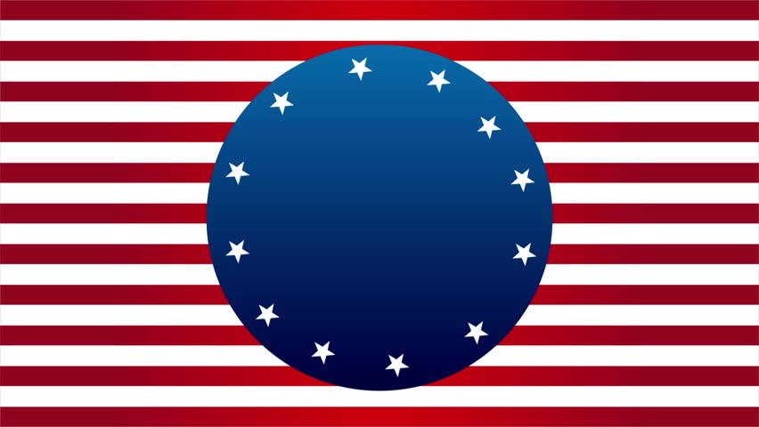 USA background, Video animation, HD 1080