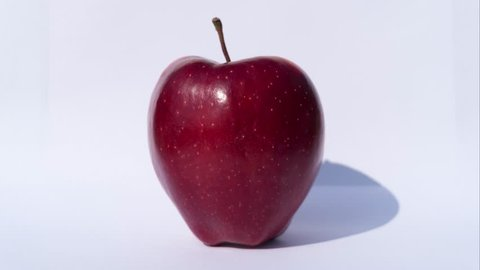 Eating an Apple, Bites Stop Motion