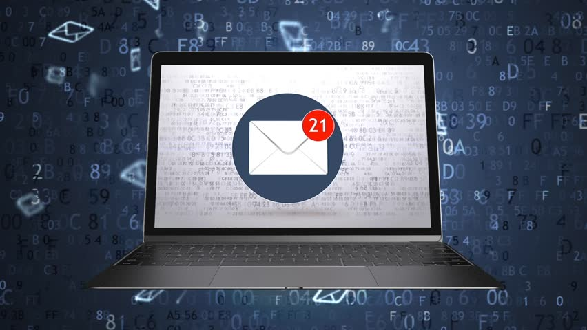 They sent a lot of emails to the mailbox. Spam concept. Green screen 72 | Shutterstock HD Video #1026943883
