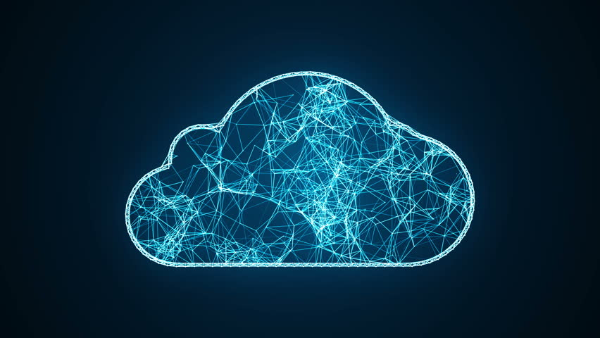 Internet Of Things (IOT) Concept.Big Data Cloud Computing Network Of Physical Devices With  Secure Network Connectivity.   | Shutterstock HD Video #1027064693