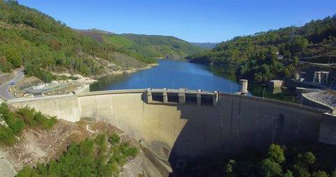 Dam in Portugal