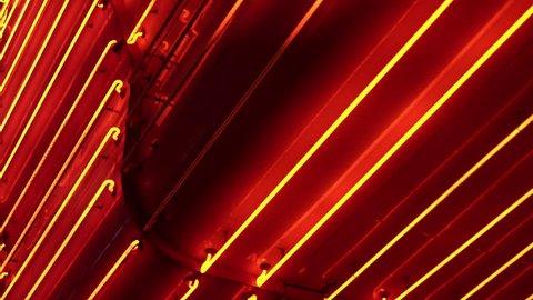 80s retro Las Vegas casino neon lights background.