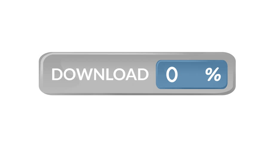 Animation of a grey download bar with percentage count. The background is grey 4k   Shutterstock HD Video #1027825193