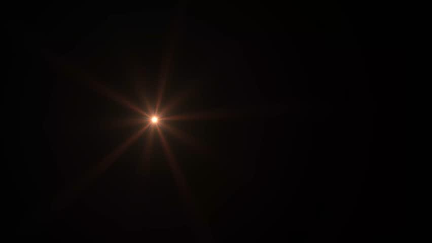 Orange Lens Flare | Shutterstock HD Video #1027860353