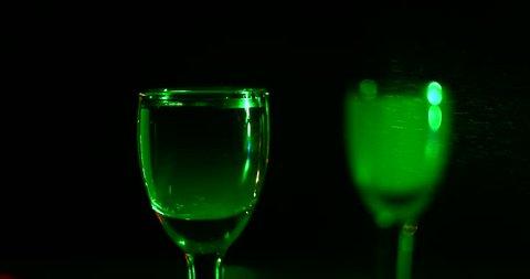 Cocktail at the bar