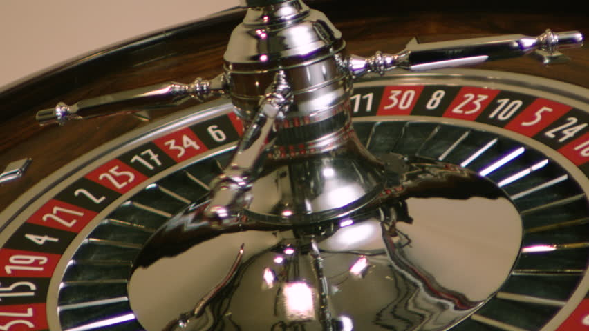 Roulette spinning wheel with ball in slow motion | Shutterstock HD Video #1028099783