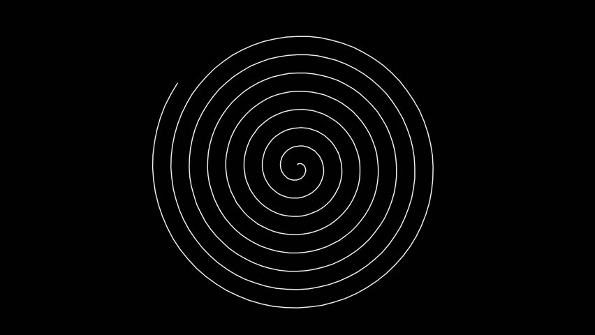 Swirling hypnotic spiral (full HD 1920x1080 30 Fps) | Shutterstock HD Video #1028138783