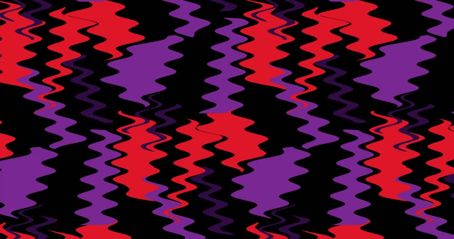 Abstract fashion background of animated texture. Chaotic motion of zigzag lines. | Shutterstock HD Video #1028192573