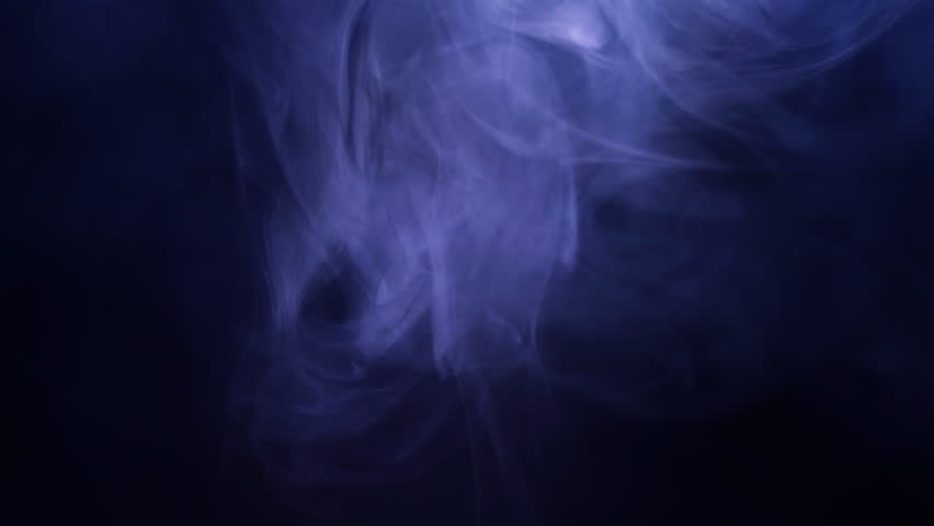 Smoke in slow motion on black background. Color smoke slowly floating through space against black background.  | Shutterstock HD Video #1028518553