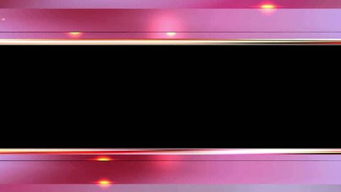 4K Pink Bars Top down Royalty Background Animation