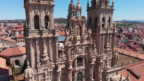 Santiago de Compostela Cathedral and Obradoiro plaza